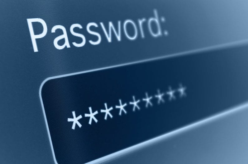 Passwords - Two factor authentication